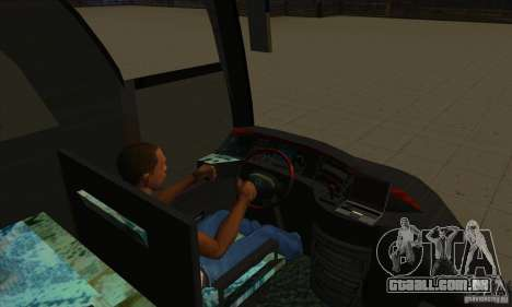 Mercedes-Benz Travego para vista lateral GTA San Andreas