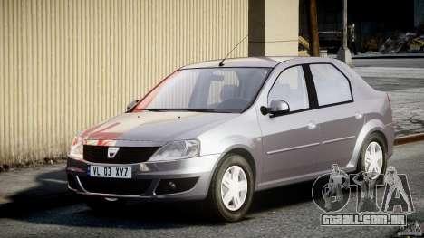 Dacia Logan v1.0 para GTA 4