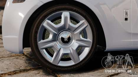 Rolls-Royce Ghost 2012 para GTA 4 vista lateral