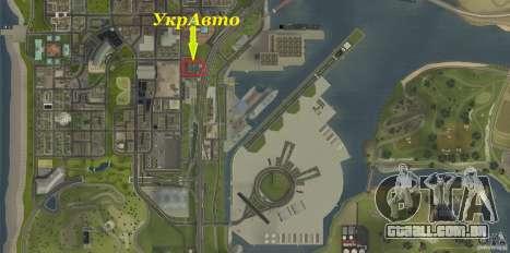 UkrAVTO Corporation para GTA San Andreas sétima tela