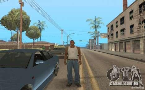 Theft of vehicles 1.0 para GTA San Andreas
