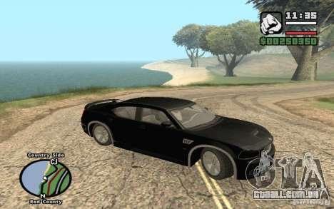 Dodge Charger SRT8 para GTA San Andreas vista traseira