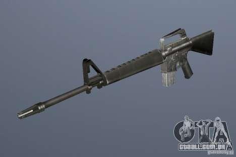 M16A1 para GTA Vice City terceira tela