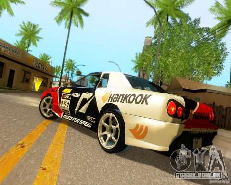 Need for Speed Elegy para o motor de GTA San Andreas