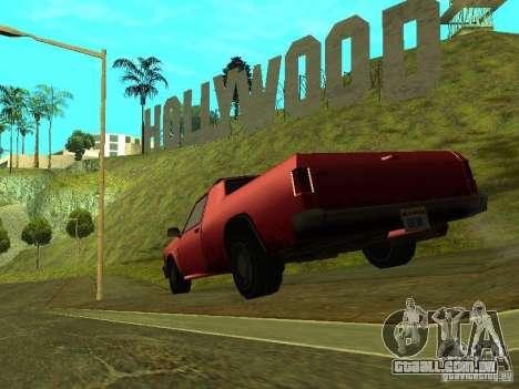 Picador para GTA San Andreas traseira esquerda vista