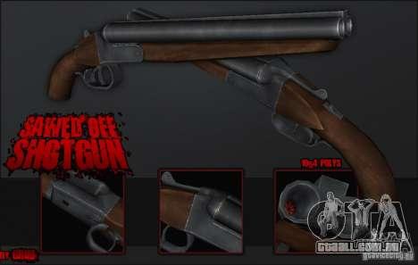 Sawedoff Shotgun para GTA San Andreas