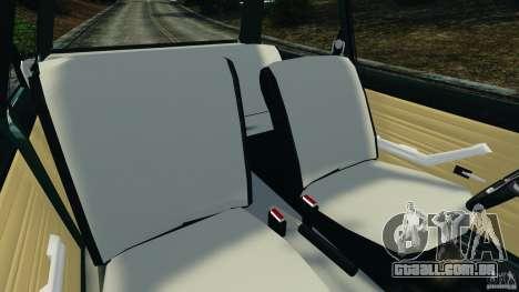 Chevrolet Chevette 1976 para GTA 4 vista interior