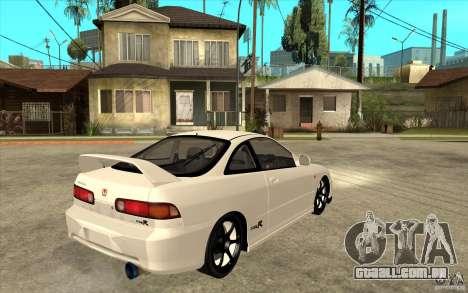 Honda Integra Spoon Version para GTA San Andreas vista direita