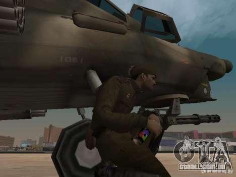 Mi-28 para GTA San Andreas vista inferior