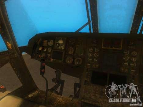 CH46 para GTA San Andreas vista traseira