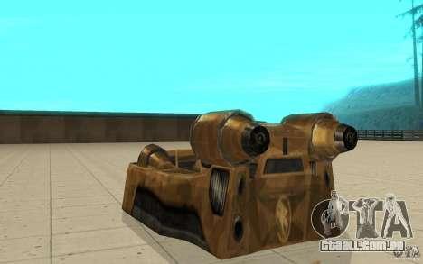 O vórtice do jogo comando e Conquer Renegade para GTA San Andreas traseira esquerda vista