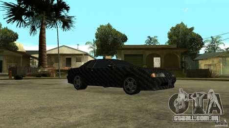 Elegy Carbon Style V 1.00 para GTA San Andreas vista direita