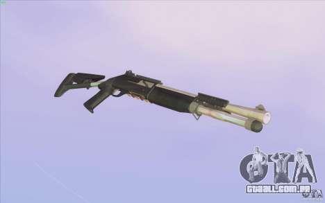 Low Chrome Weapon Pack para GTA San Andreas por diante tela
