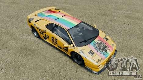 Lamborghini Diablo SV 1997 v4.0 [EPM] para GTA 4 rodas