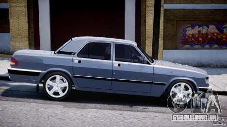 Gaz-3110 Turbo WRX STI v 1.0 para GTA 4 esquerda vista