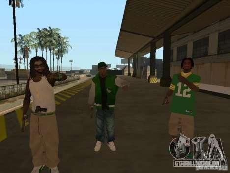 Novas skins Grove para GTA San Andreas terceira tela