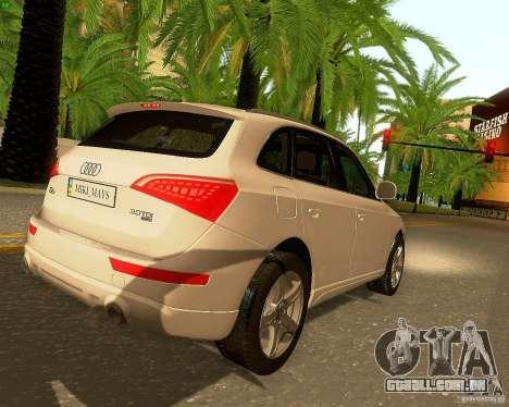Audi Q5 para o motor de GTA San Andreas
