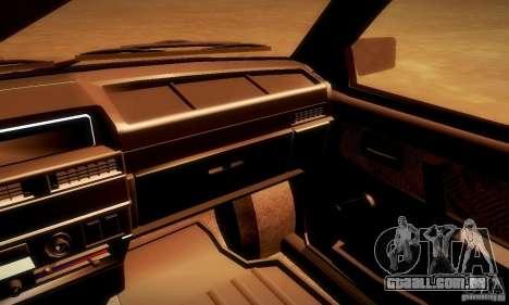 VAZ 2108 v 2.0 para GTA San Andreas vista direita