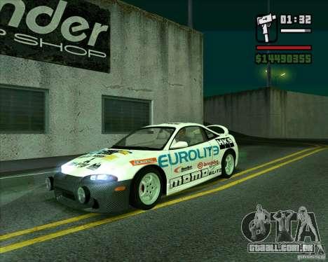 Mitsubishi Eclipse GST para GTA San Andreas