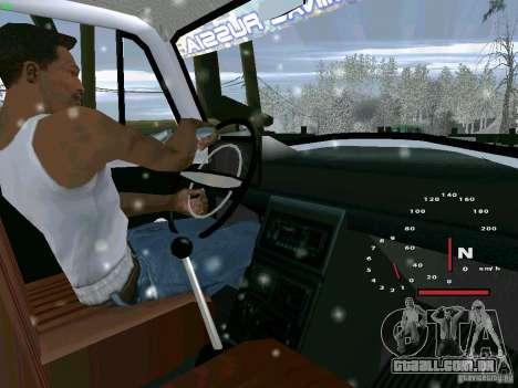 IZH-27151 para GTA San Andreas traseira esquerda vista