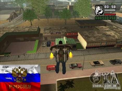 Russas lojas atrás da casa de CJ para GTA San Andreas