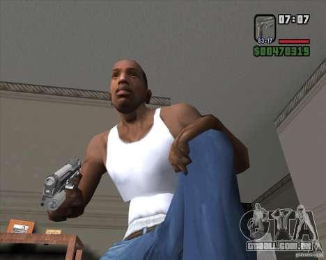 Colt 45 para GTA San Andreas segunda tela