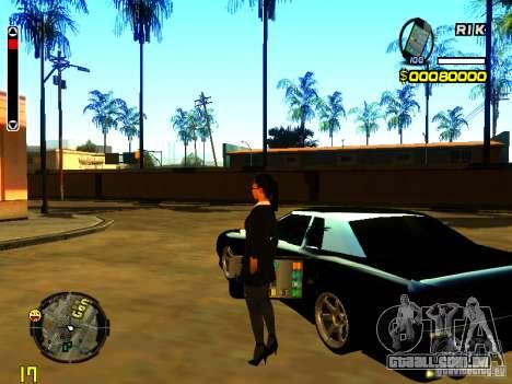 IPhone Garnet v2 para GTA San Andreas segunda tela
