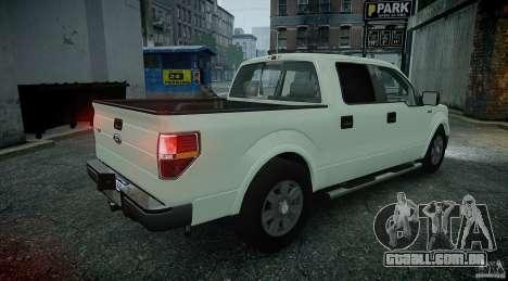 Ford F150 XLT v1.3 para GTA 4 esquerda vista