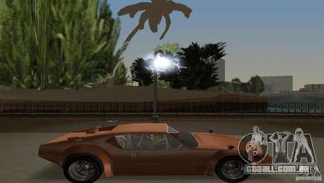 De Tomaso Pantera para GTA Vice City vista traseira