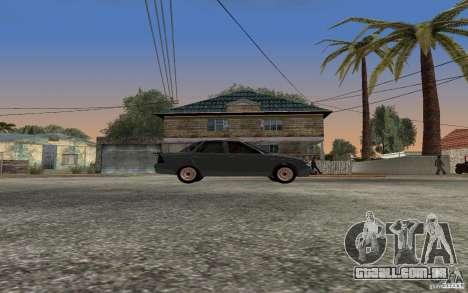 LADA priora luz tuning para GTA San Andreas traseira esquerda vista