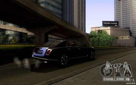 Bentley Mulsanne 2010 v1.0 para as rodas de GTA San Andreas