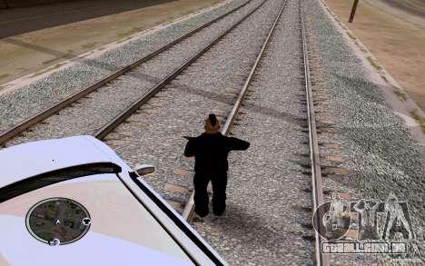 Rails russos para GTA San Andreas segunda tela