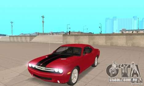 Dodge Challenger 2007 para GTA San Andreas