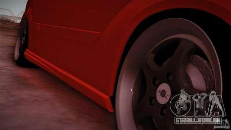 Ford Focus SVT Clean para GTA San Andreas vista direita