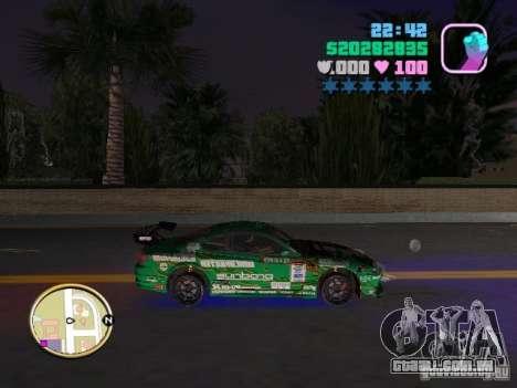 Nissan Silvia S15 Kei Office D1GP para GTA Vice City vista direita