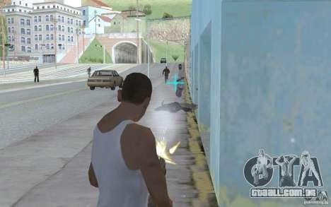 Vista azul para GTA San Andreas