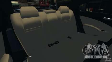 Dodge Charger SRT8 2012 v2.0 para GTA 4 vista lateral