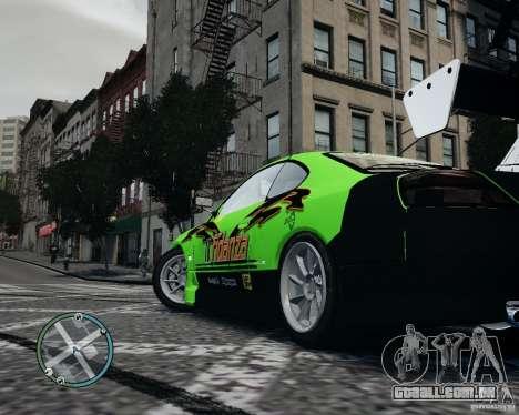 Nissan Silvia para GTA 4 vista direita