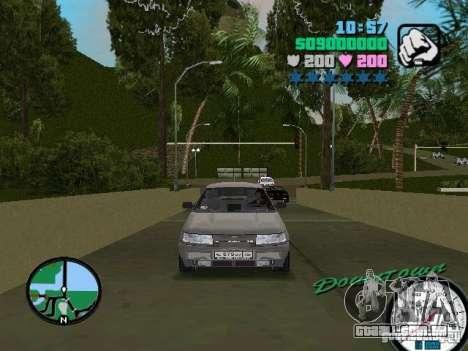 VAZ-2112 para GTA Vice City vista traseira esquerda
