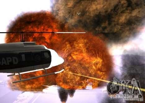 Novos efeitos de explosões para GTA San Andreas sexta tela