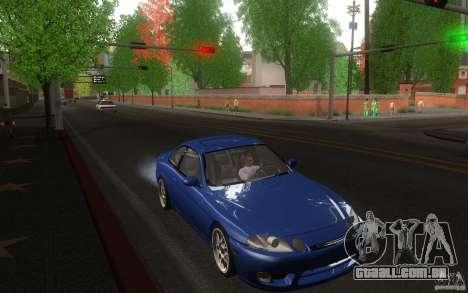 Lexus SC300 para GTA San Andreas vista traseira