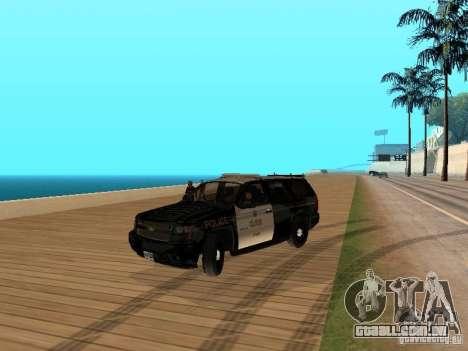 Chevrolet Tahoe Ontario Highway Police para GTA San Andreas