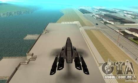 S.S.V. NORMANDY-SR 2 para GTA San Andreas vista traseira