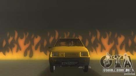 VAZ 1111 Oka Sedan para GTA Vice City vista traseira esquerda