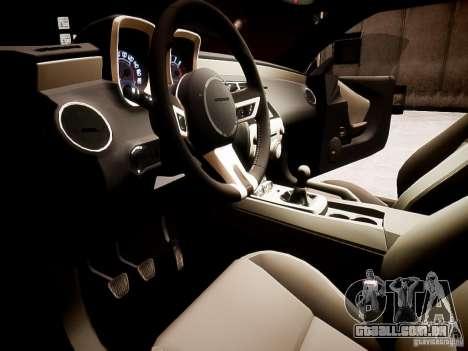 Chevrolet Camaro SS 2010 para GTA 4 vista direita