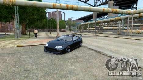 Toyota Supra RZ 1998 v 2.0 para GTA 4 esquerda vista