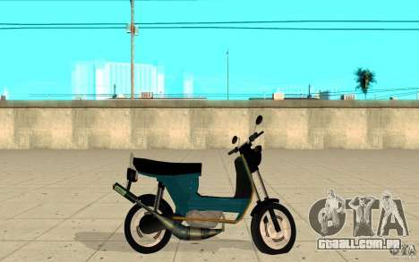 Simson SR50 tuned Big Bore 3 para GTA San Andreas esquerda vista