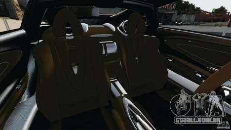 Pagani Huayra 2011 v1.0 [EPM] para GTA 4 vista interior