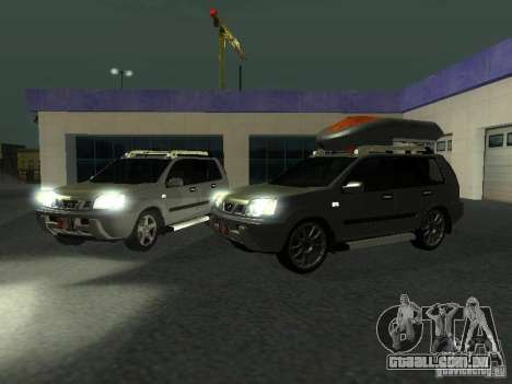 Nissan X-Trail para vista lateral GTA San Andreas
