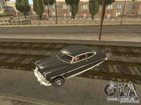 Hudson Hornet 1952 para vista lateral GTA San Andreas